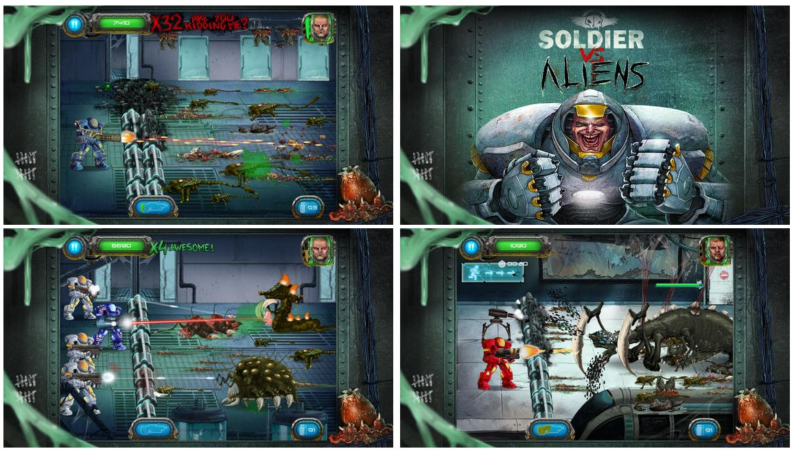 игра Soldier vs. Aliens